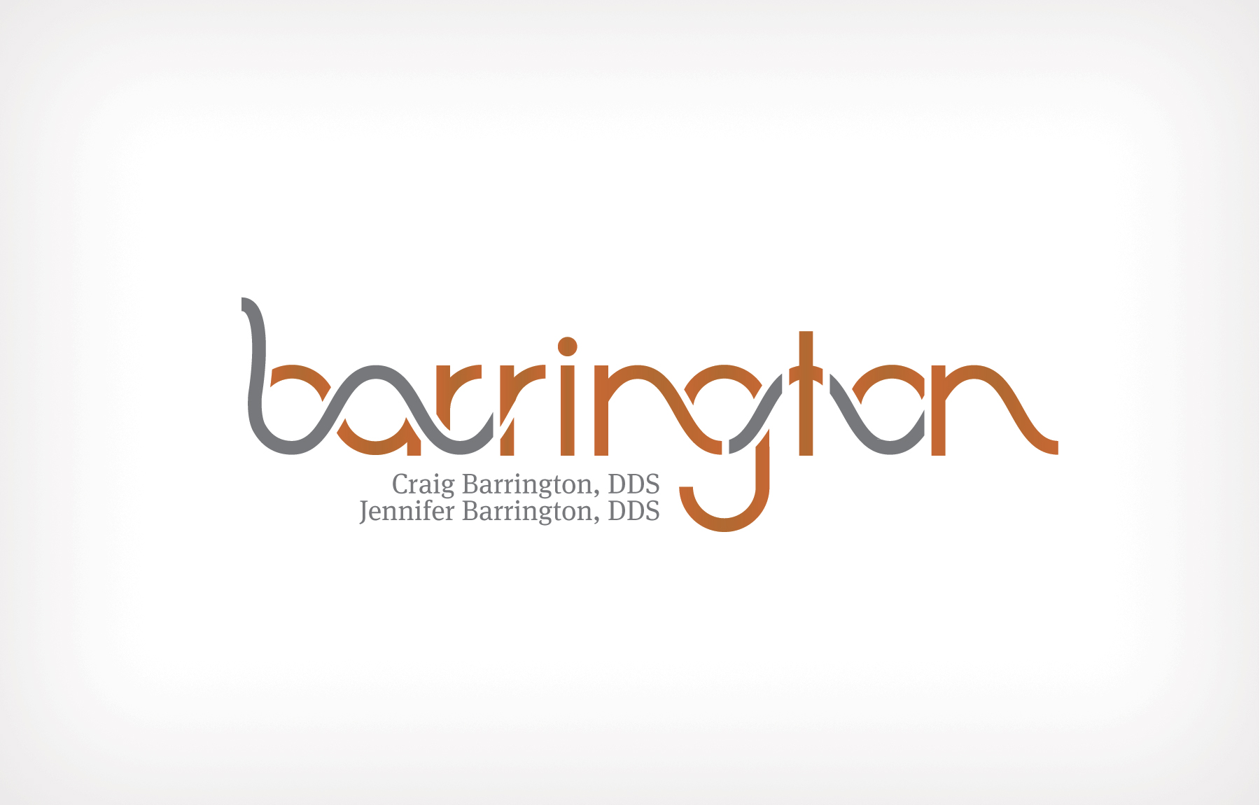 Identity for Drs. Barrington and Barrington - Modern Clean and Innoovative Design