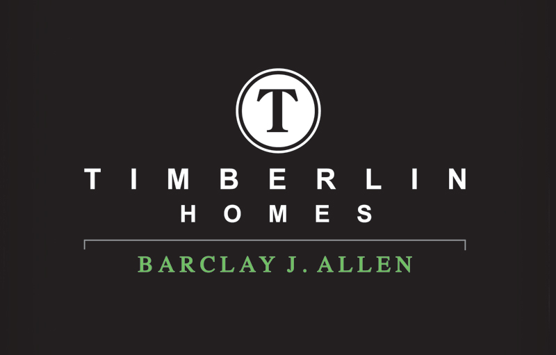 Refined Logo Identity for Timberln Homes, a Fort Wayne Custom Home Builder.